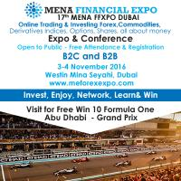 17th MENA FFXPO International Financial Forum & Expo Dubai (FREE)