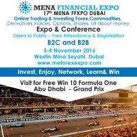 17th MENA FFXPO International Financial Forum & Expo Dubai (FREE)